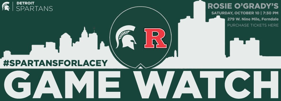 2nd Annual Spartans for Lacey Gamewatch